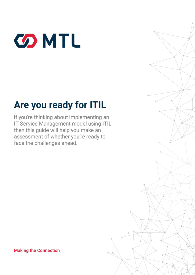 Are you ready for ITIL