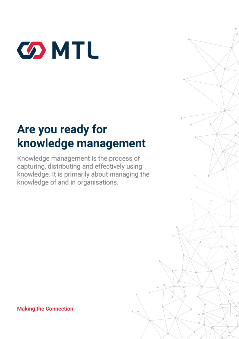 Are you ready for Knowledge Management